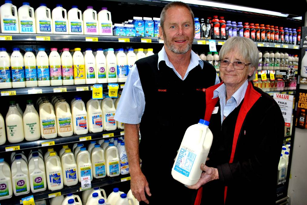 Proudly supporting our Local Dairy Farmers and Local Community